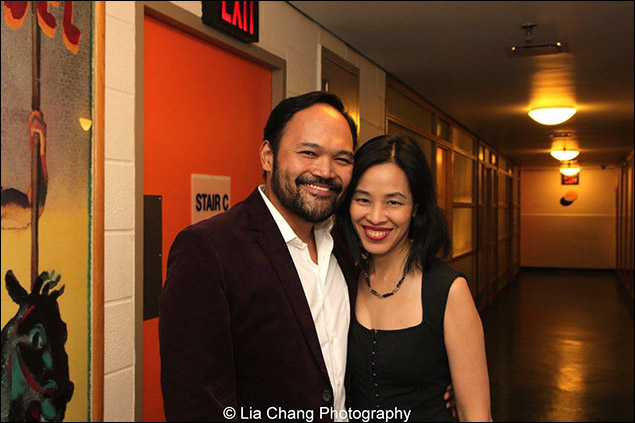 Lia Chang and Orville Mendoza