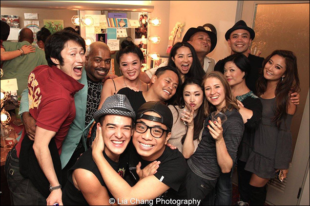 Cast of The King & I and guests