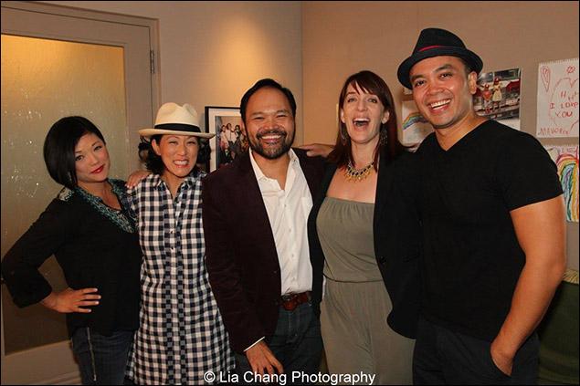 Erin Quill, MaryAnn Hu, Orville Mendoza, Julia Murney and Jose Llana