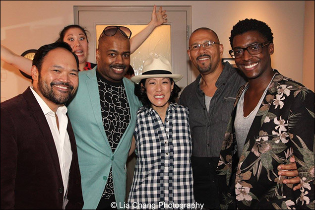 Orville Mendoza, Ruthie Ann Miles, Lance Roberts, MaryAnn Hu, Eugene Ware-Hill and Timothy Ware-Hill