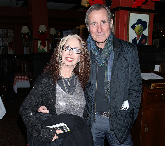 Evelyn Rudie and Jim Dale