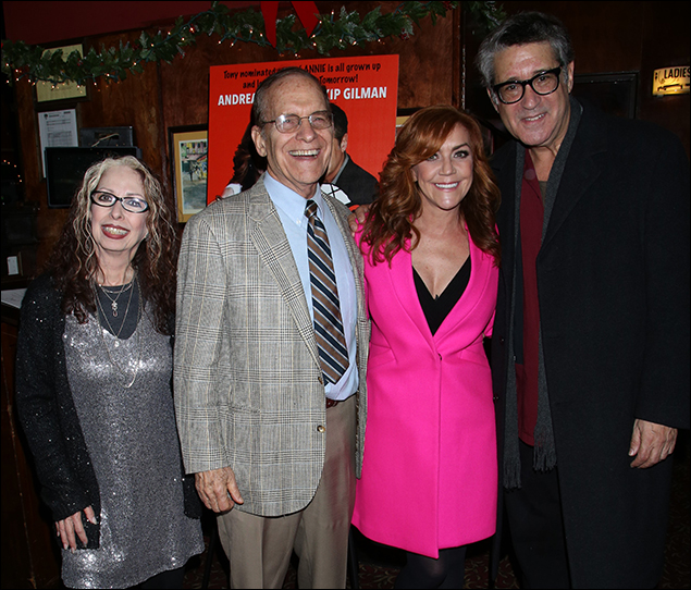 Evelyn Rudie, Jerry Mayer, Andrea McArdle and Kip Gilman