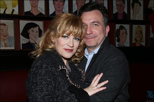 Felicia Finley and Eddie Varley