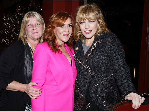 Janine Ruane, Andrea McArdle and Felicia Finley