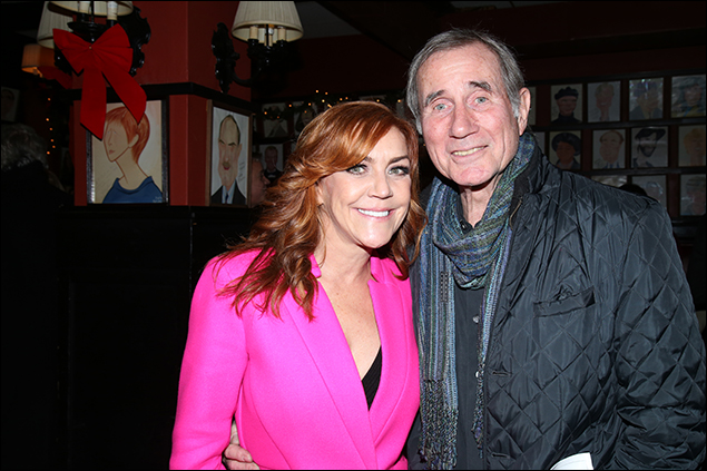 Andrea McArdle and Jim Dale
