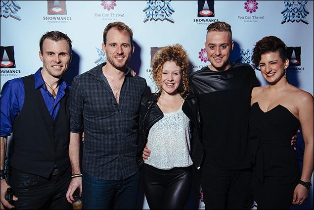 Tony LePage, Eric Coles, Josephine Rose Roberts, Cody Scott Lancaster and Tessa Alves