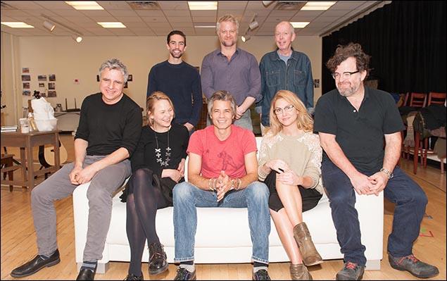 Neil Pepe, Adelaide Clemens, Timothy Olyphant, Jenn Lyon, Kenneth Lonergan, Keith Nobbs, C.J. Wilson and Jonathan Hogan