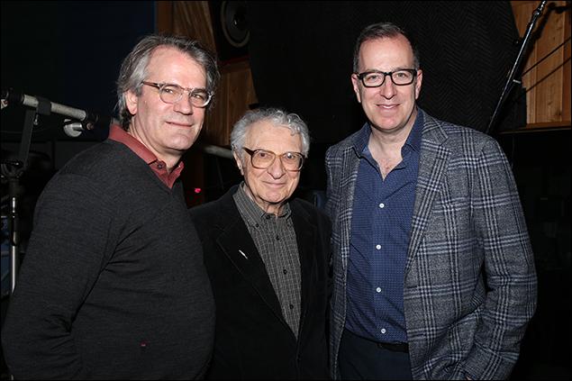 Bartlett Sher, Sheldon Harnick and Ted Sperling