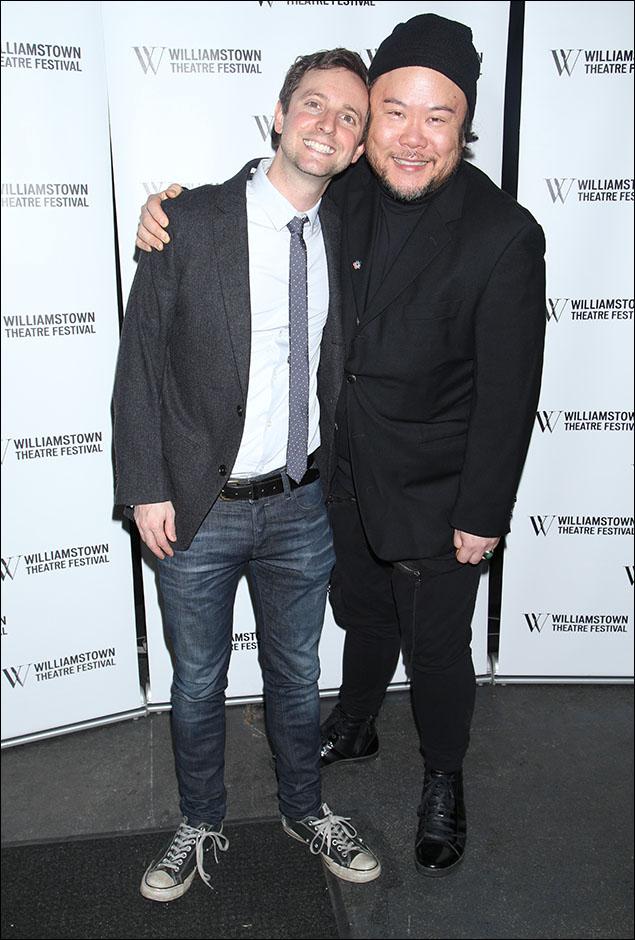 Joe Tracz and Stafford Arima