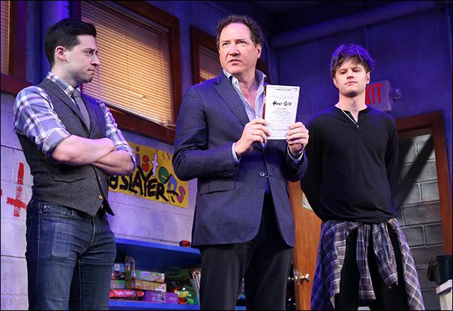 Alex Mandell, Kevin McCollum and Michael Oberholtzer