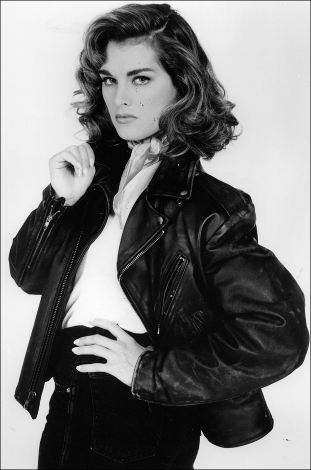 Brooke Shields in the 1994 revival of Grease