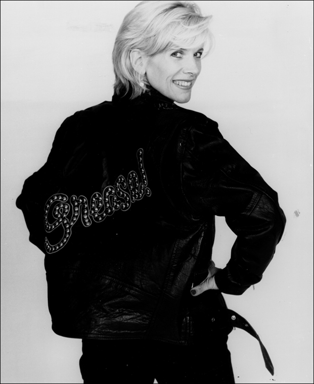 Debby Boone in the 1994 revival of Grease