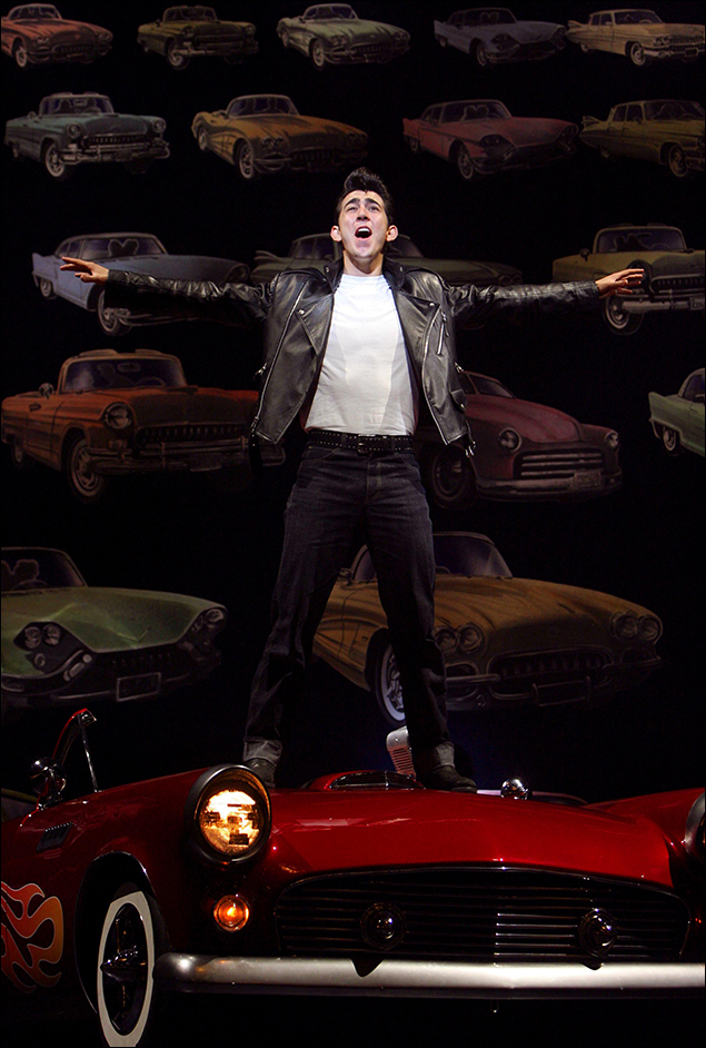 Max Crumm in the 2007 revival of Grease