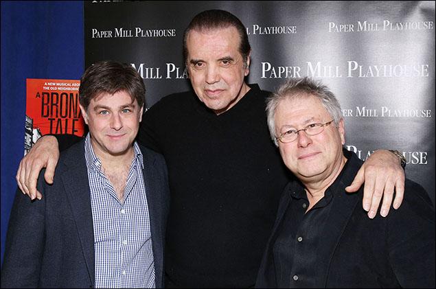 Glenn Slater, Chazz Palminteri and Alan Menken