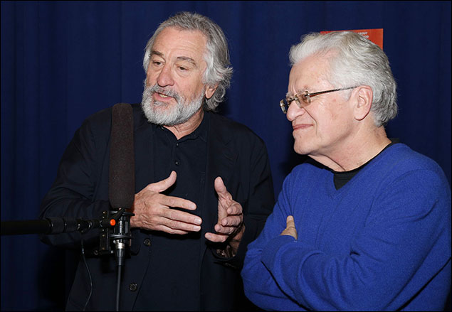 Robert De Niro and Jerry Zaks