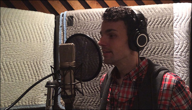 Bronson Norris Murphy at Raoul recording session