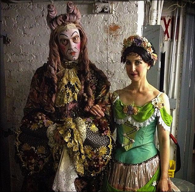 Carrington Vilmont and Jessica Radetsky