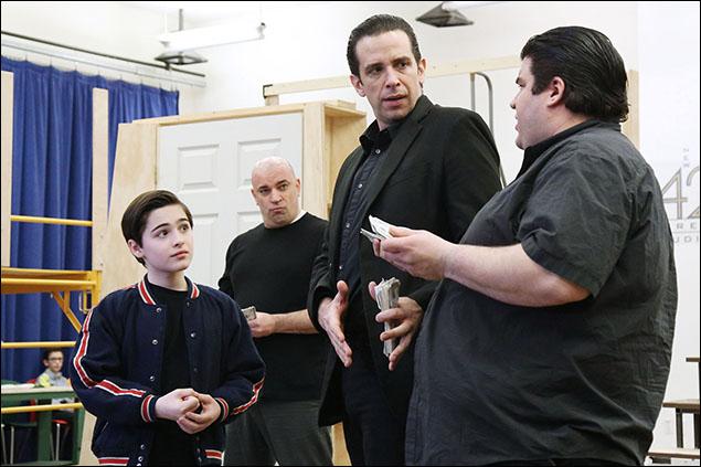 Joshua Colley, Nick Cordero and cast