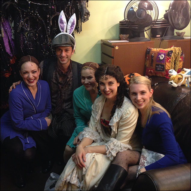Lynne Abeles, Kyle Barisich, Susan Owen, Jessica Radetsky and Polly Baird