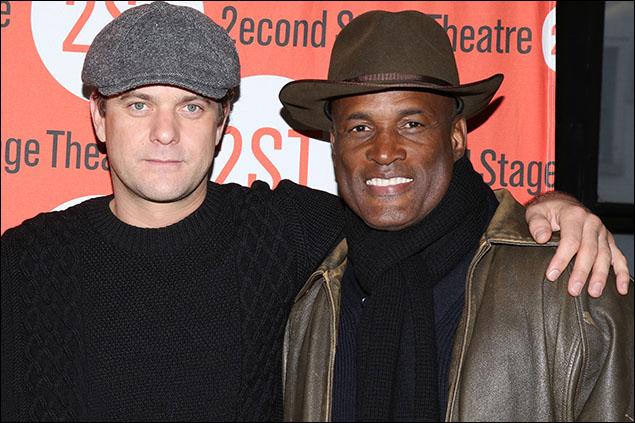Joshua Jackson and Kenny Leon
