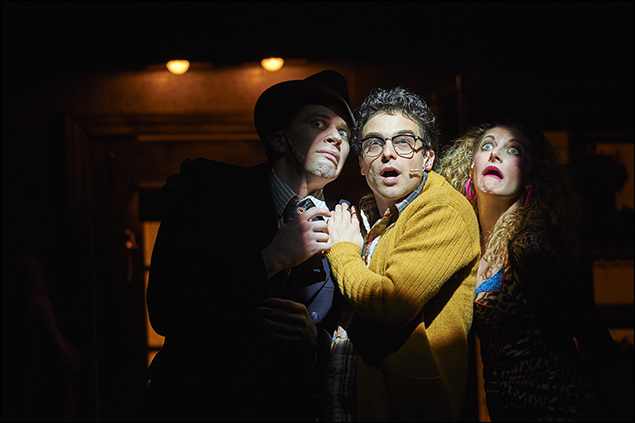 Joey Taranto, Ari Butler and Lauren Molina