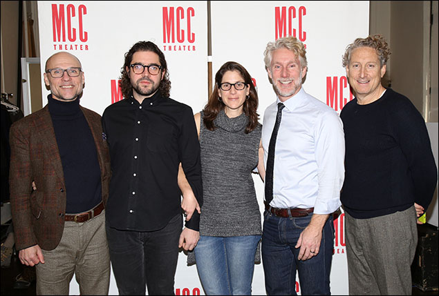 Will Cantler, Noah Haidle, Anne Kauffman, Blake West and Bernard Telsey