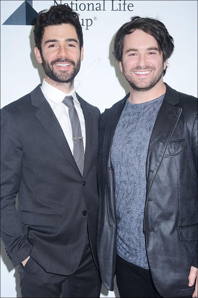 Adam Kantor and Alex Brightman