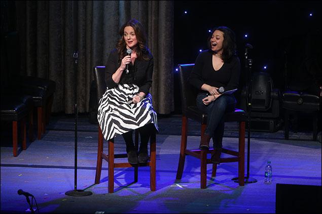 Melissa Errico and Jen Bender