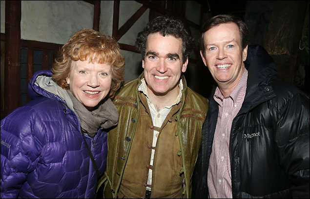Becky Ann Baker, Brian d'Arcy James and Dylan Baker