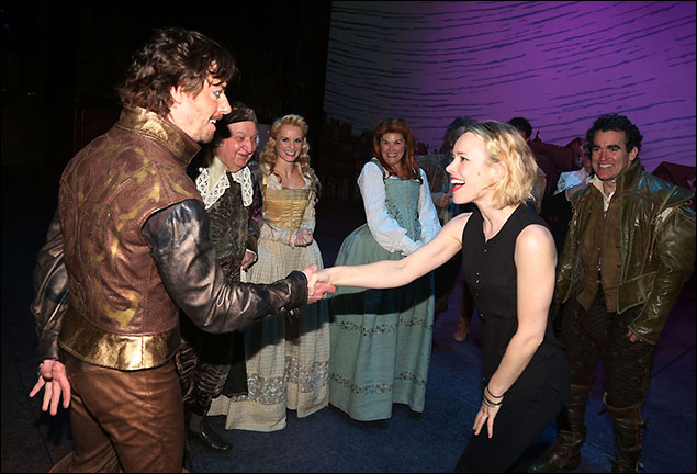 Christian Borle and Rachel McAdams