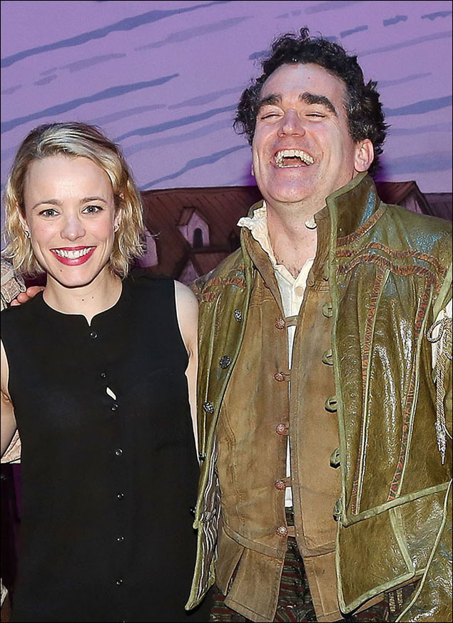 Rachel McAdams and Brian d'Arcy James