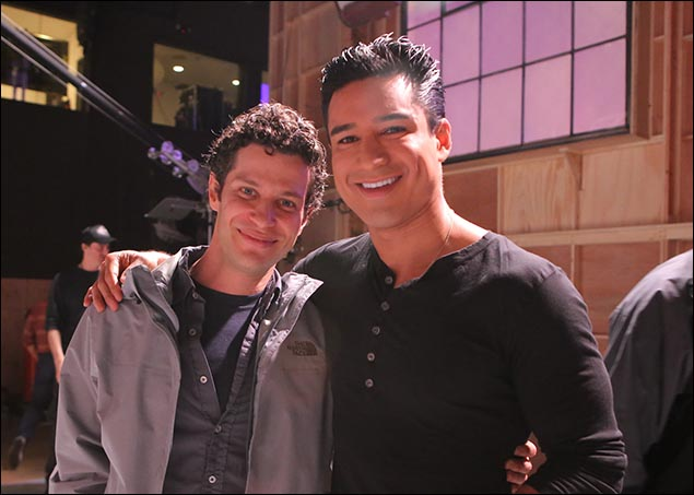 Thomas Kail and Mario Lopez