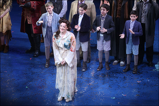 Laura Michelle Kelly and cast
