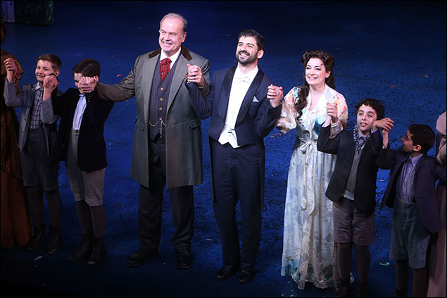 Kelsey Grammer, Laura Michelle Kelly and Tony Yazbeck
