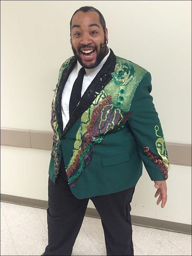 Eddie's fabulous finale jacket.
