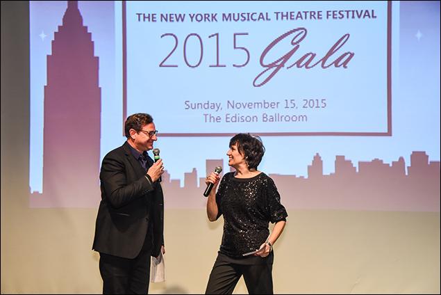Bob Saget and Beth Leavel