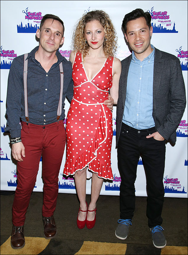 Nick Cearley, Lauren Molina and Jason Tam