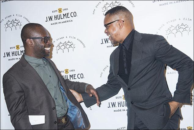 Sahr Ngaujah and Kevin Mambo