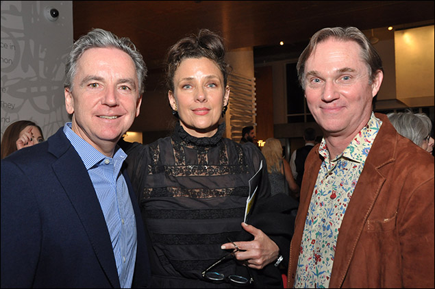 James Houghton, Rebecca Miller and Richard Thomas