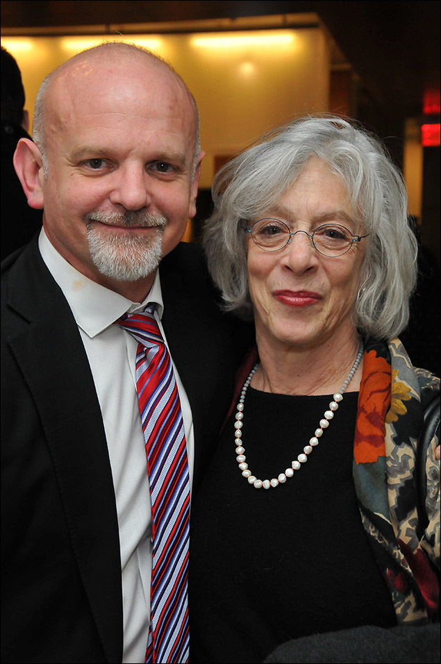 Michael Wilson and Martha Clarke