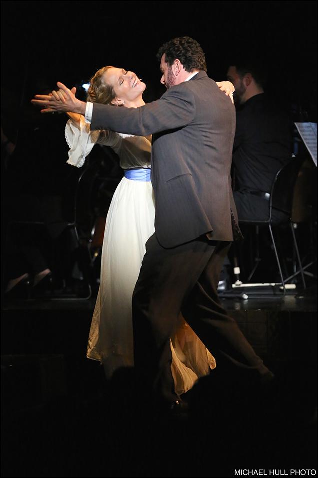 Rebecca Luker and Bradley Dean
