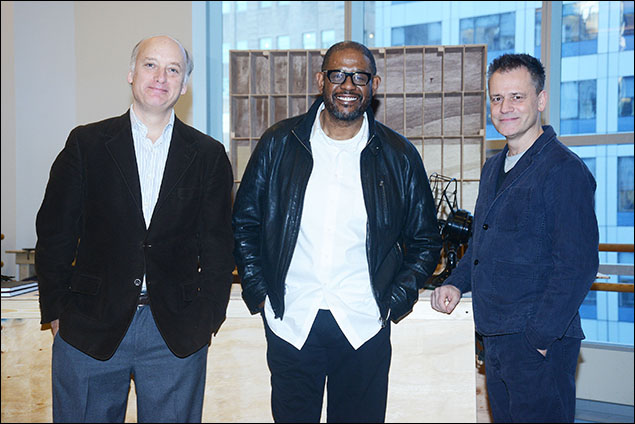 Frank Wood, Forest Whitaker and Michael Grandage