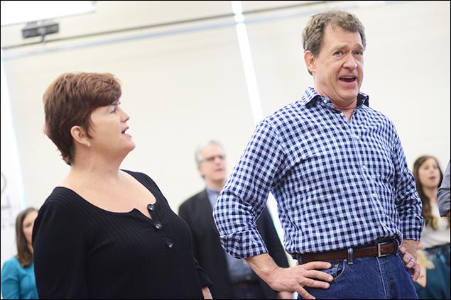 Mary Callanan and David Hess