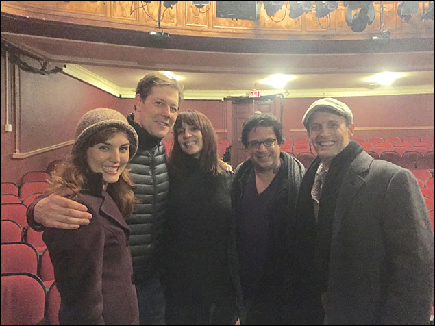 Look who came to our show! Broadway Veteran Julia Murney and Signature Theatre's Resident Director (and Ithaca College Alum) Joe Calarco!