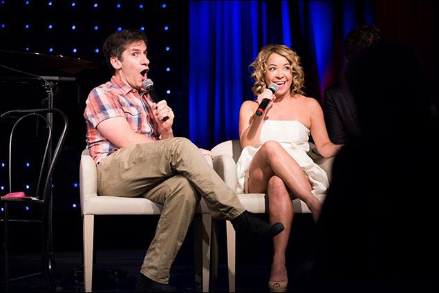 Seth Rudetsky and Jen Cody