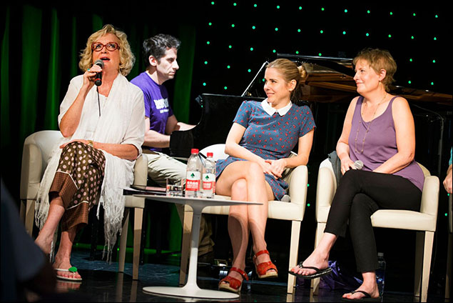 Christine Ebersole, Seth Rudetsky, Kerry Butler and Liz Callaway