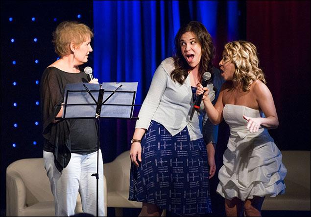 Liz Callaway, Lindsay Mendez and Jen Cody