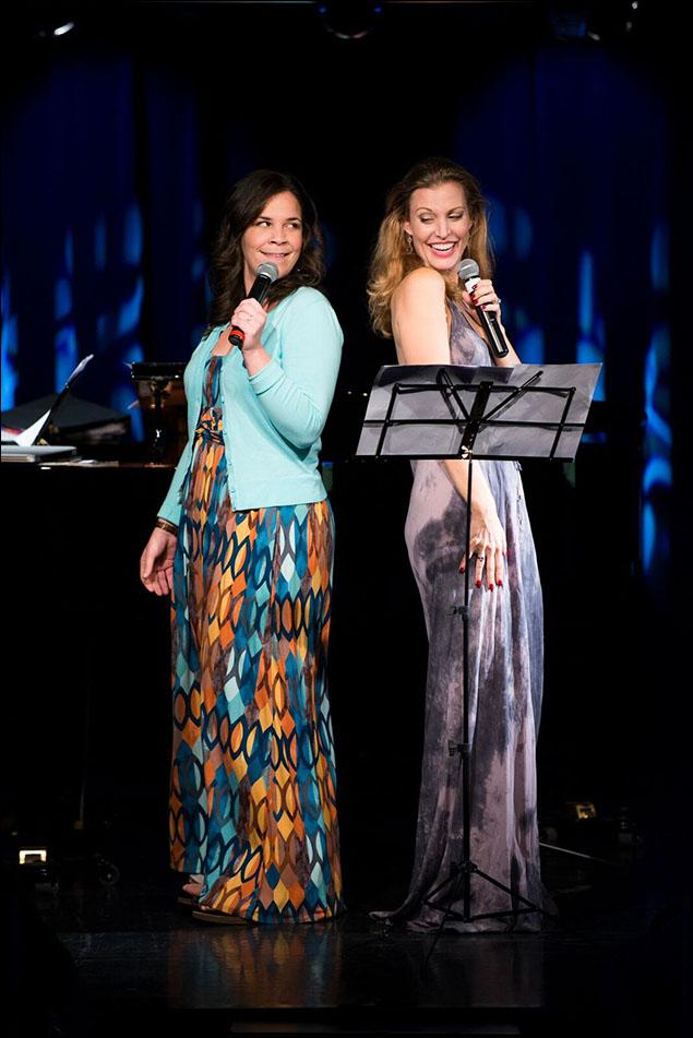 Lindsay Mendez and Rachel York