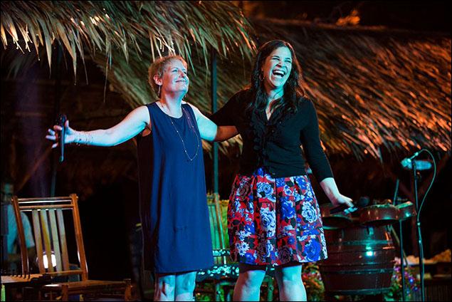 Liz Callaway and Lindsay Mendez