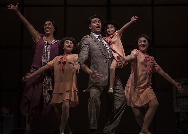 Ben Crawford and the company of Chasing Rainbows: The Road to Oz